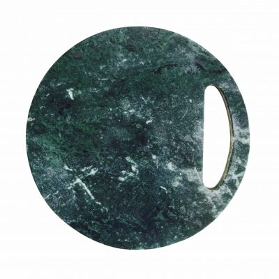 green marble round platter website